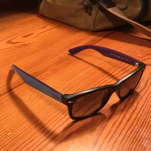 Ray Ban New Wayfarer with Blue Sides